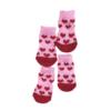 Skarpetki bawełniane dla psa serduszka