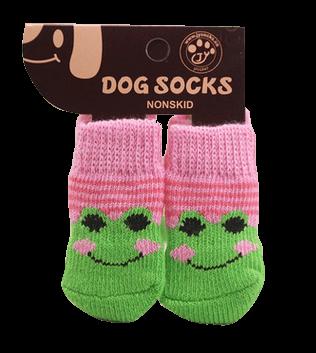 Skarpetki bawełniane dla psa żaba