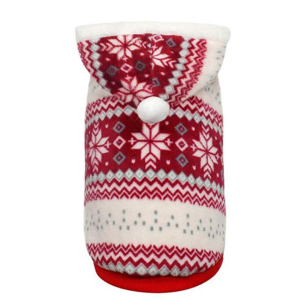Świąteczny sweterek dla psa polarek na napy