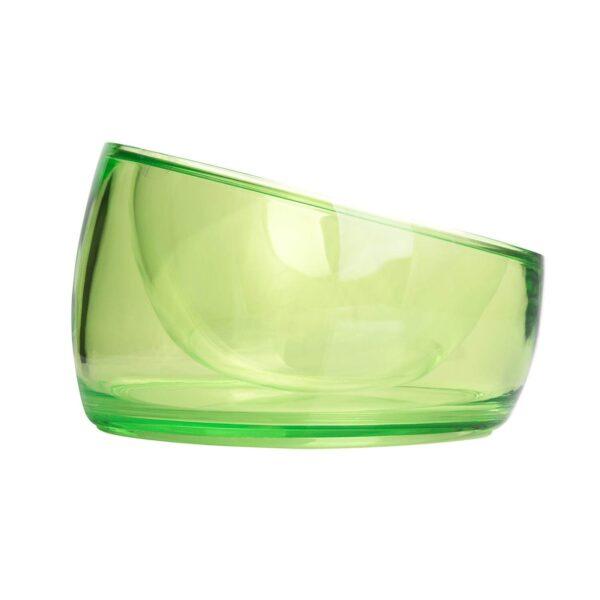 Miska Felli Pet Oblik Supreme wymienny wkład akrylowy zielona 500ml bok miniatura