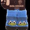 Skarpetki bawełniane dla psa niebieskie z kaczką