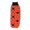 Sweter dla psa lub kota czerwony w czarne kropki, biedronka