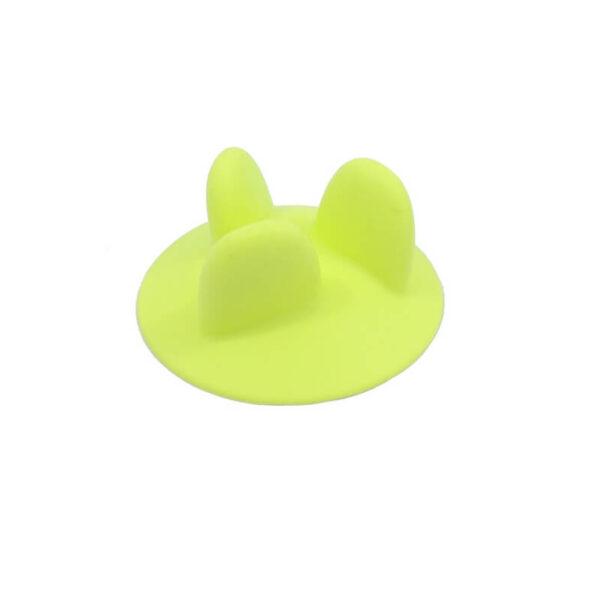 wkład silikonowy spowalniający do miski zielony bok miniatura