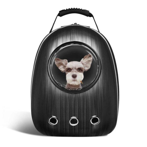 Plecak transporter dla psa kota idealny w podróży kolor czarny