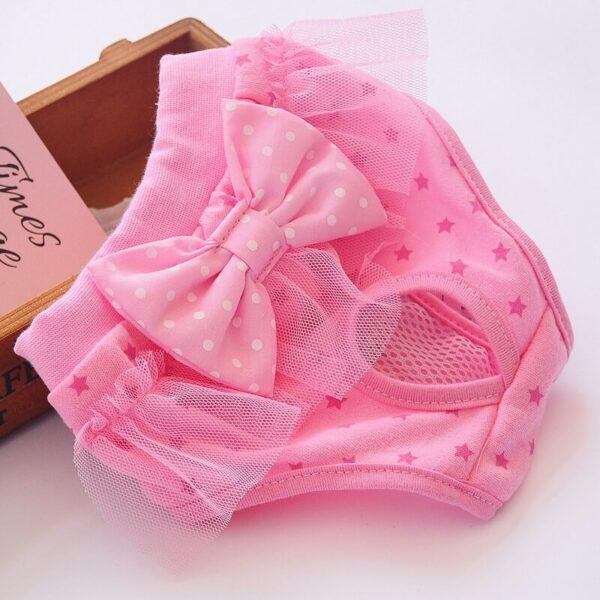 Majtki dla psa ROSA różowe