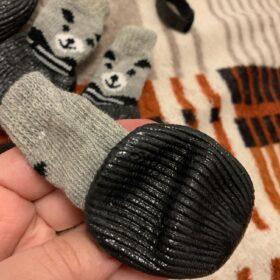 Skarpetki antypoślizgowe z rzepem COLOR BEAR photo review