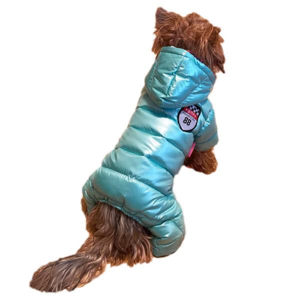 Zimowy kombinezon dla psa Winterperle Zielony York