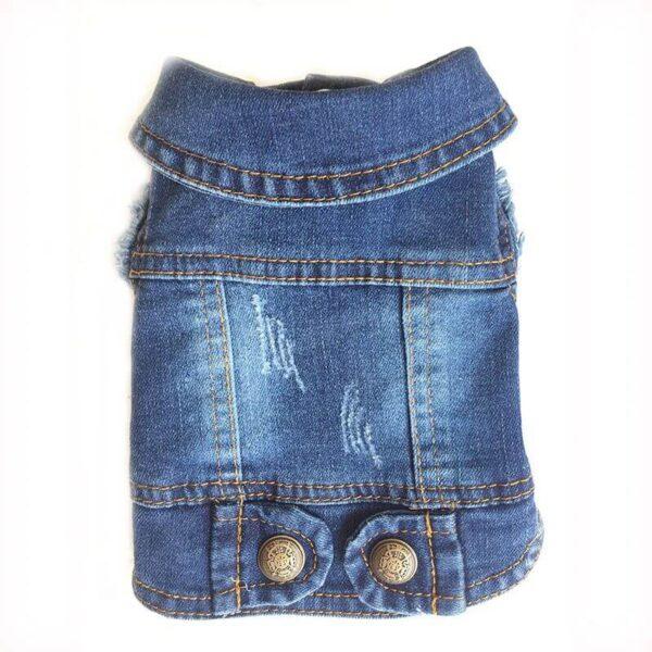 Jeansowa kamizelka dla psa LILLY miniaturka
